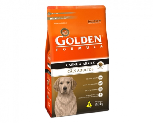 Golden Formula Adultos Carne & Arroz