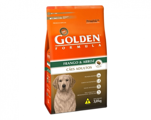 Golden Formula Adultos Frango & Arroz